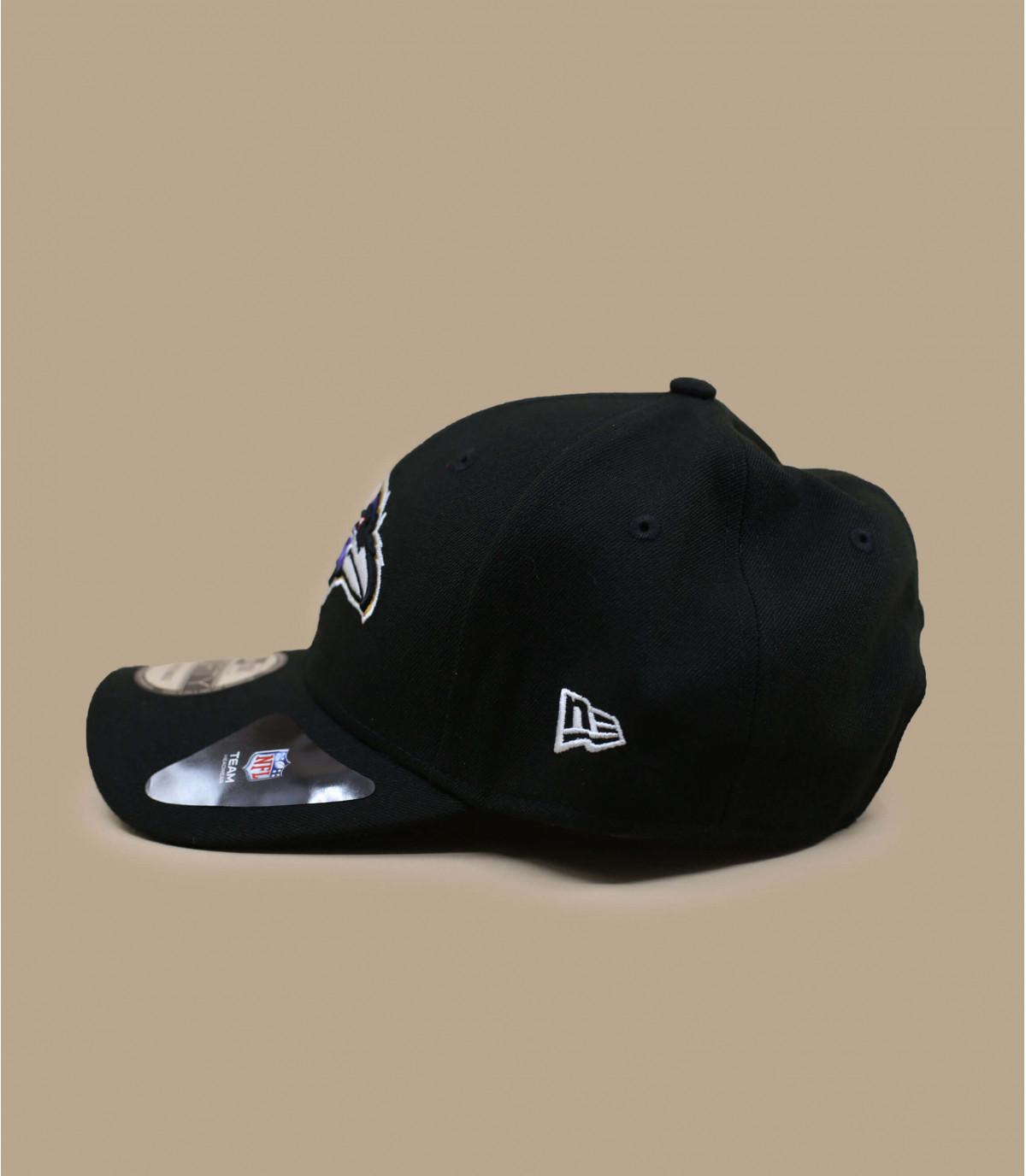 Ravens curva CAP negro