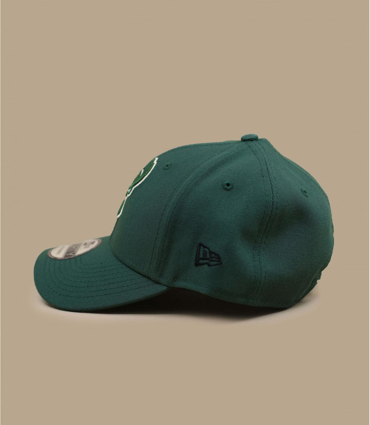 Bucks de la curva gorra verde