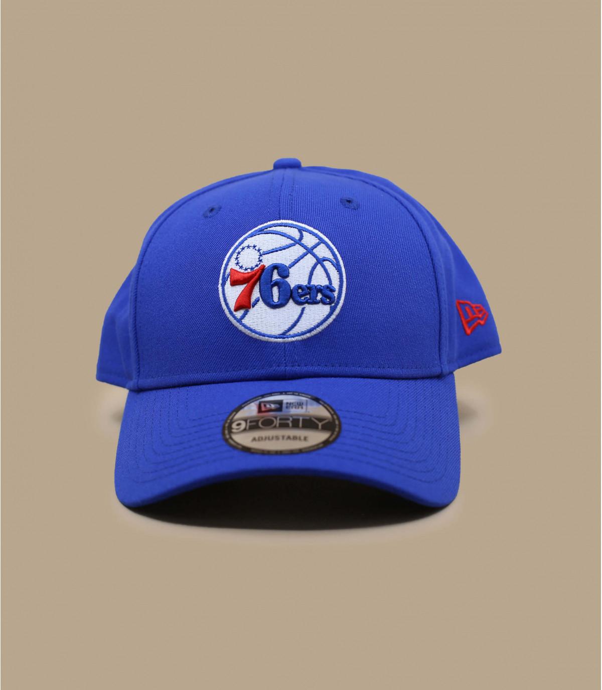 gorra azul Sixers NBA