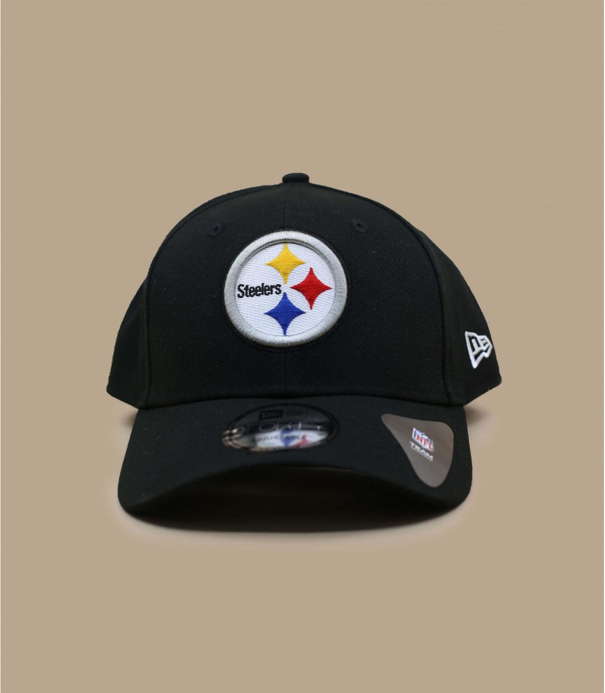 gorra curva Steelers negro