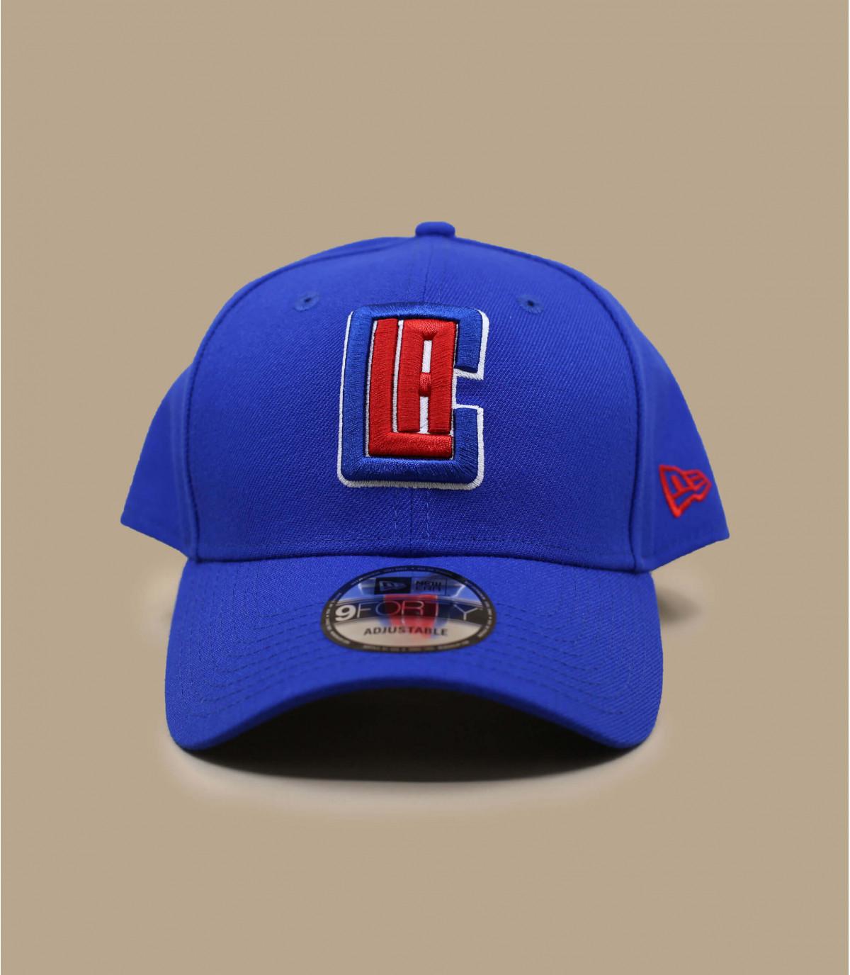 gorra azul Clippers NBA