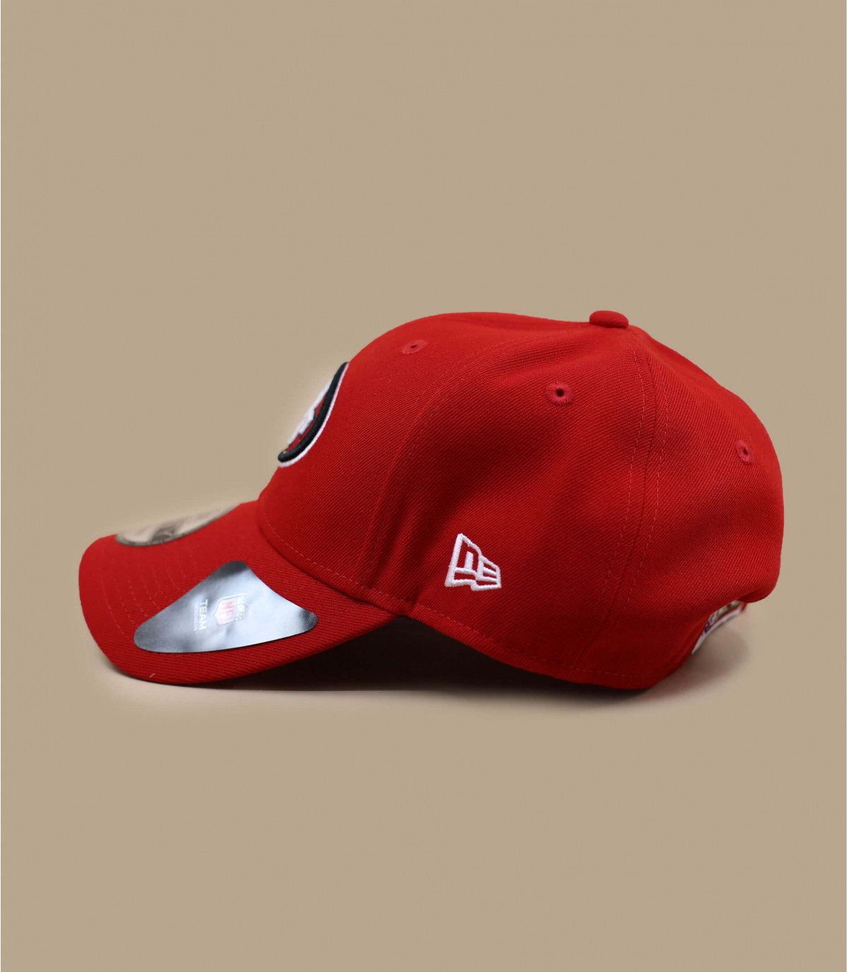 49ers curva de tapa roja