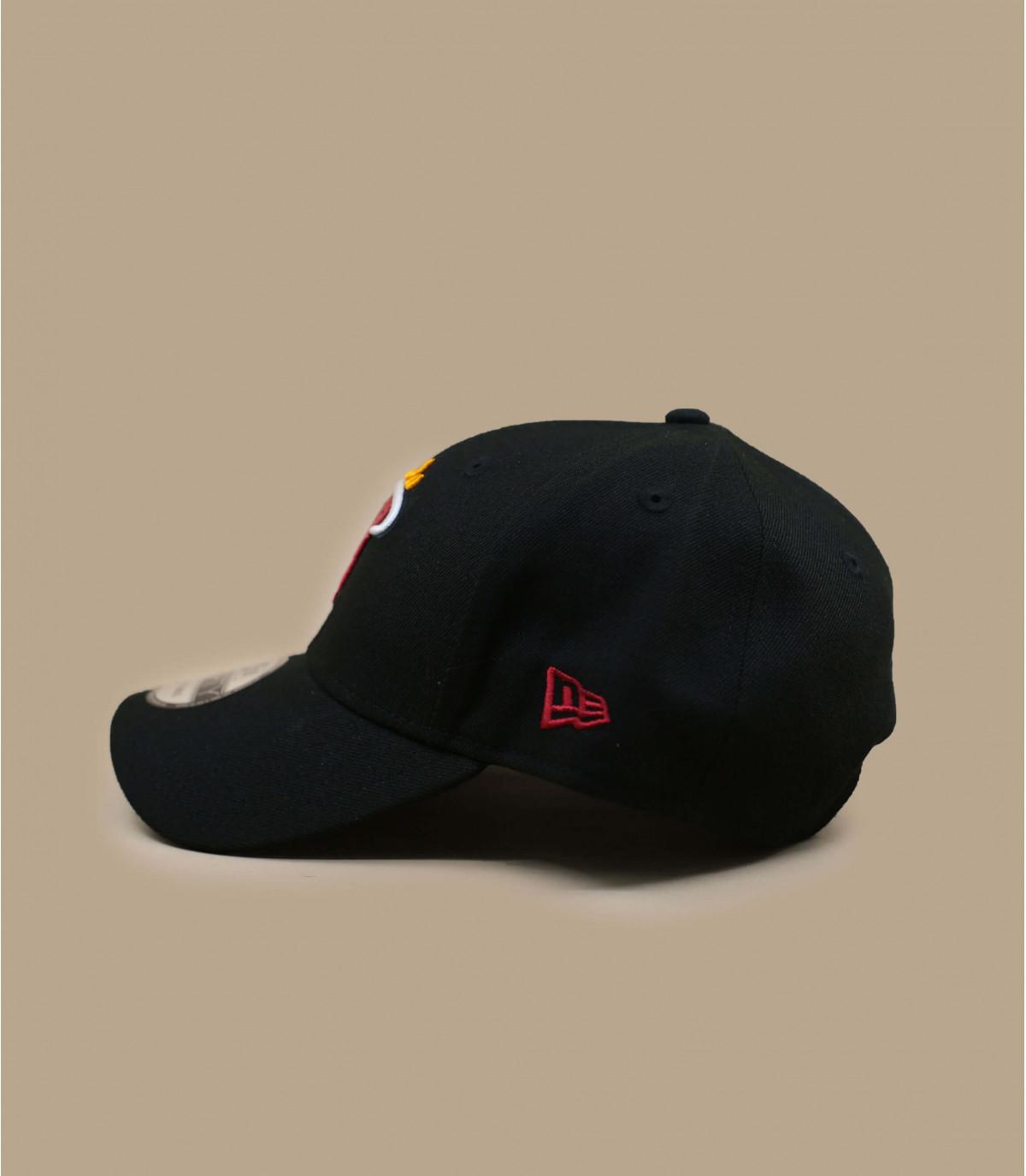 gorra Heat NBA negro