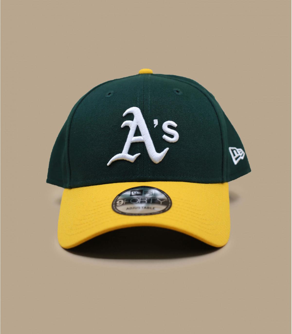 gorra A verde amarillo