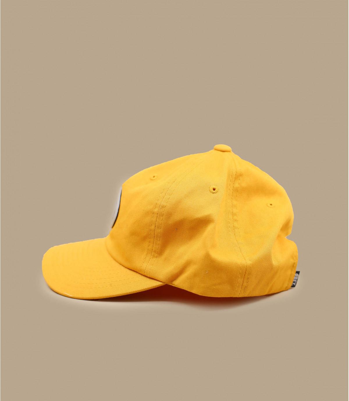 gorra 5 panel Obey amarillo