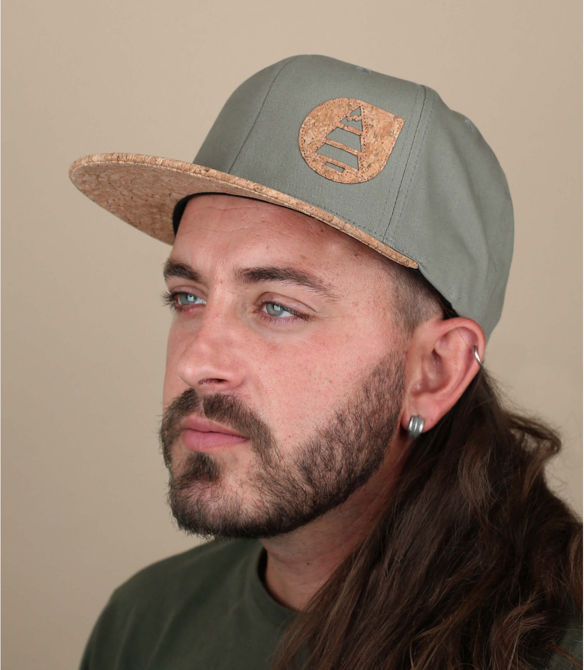 gorra Picture verde corcho