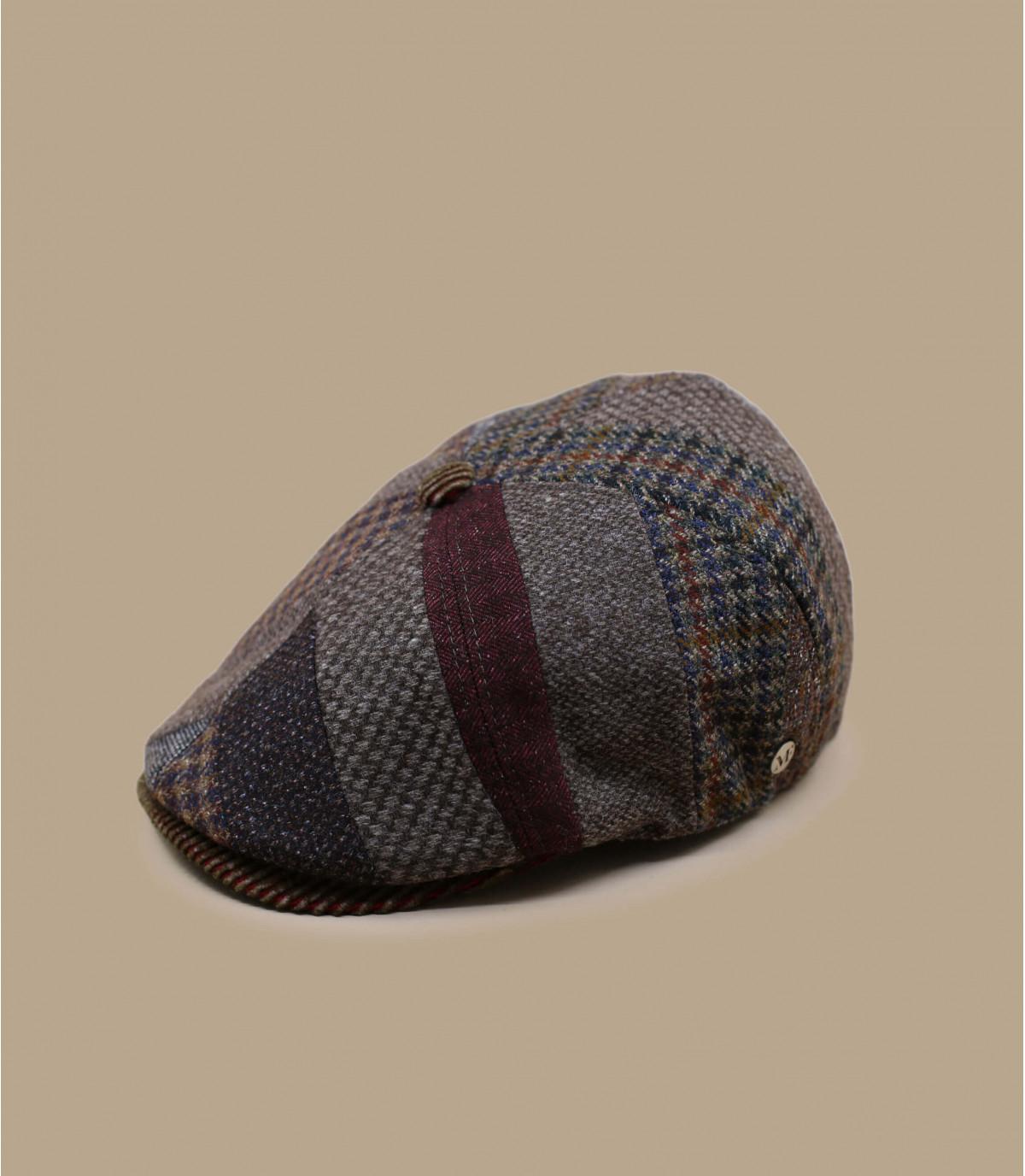 gorra repartidor lana patchwork
