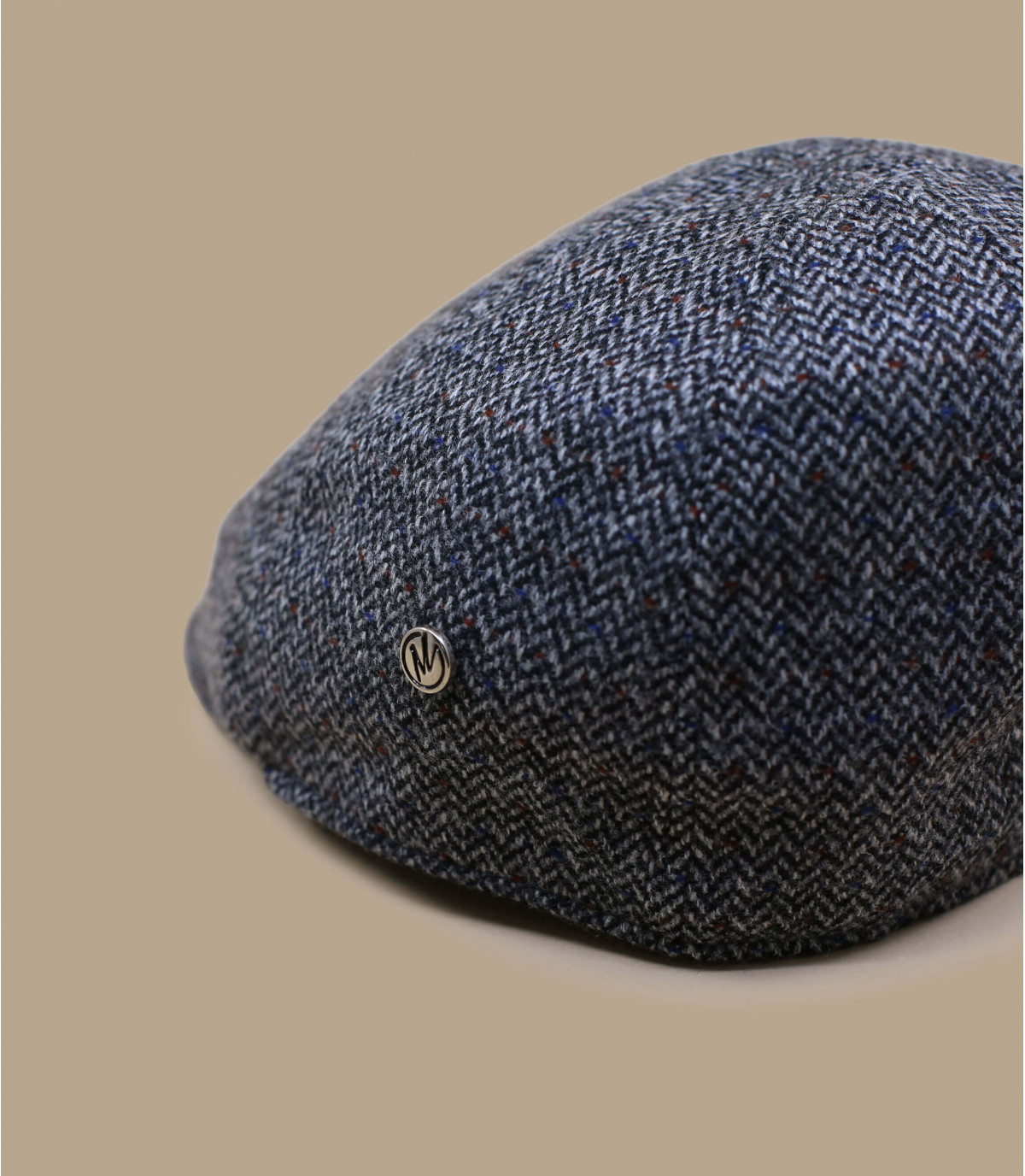 gorra gris lana cachemira