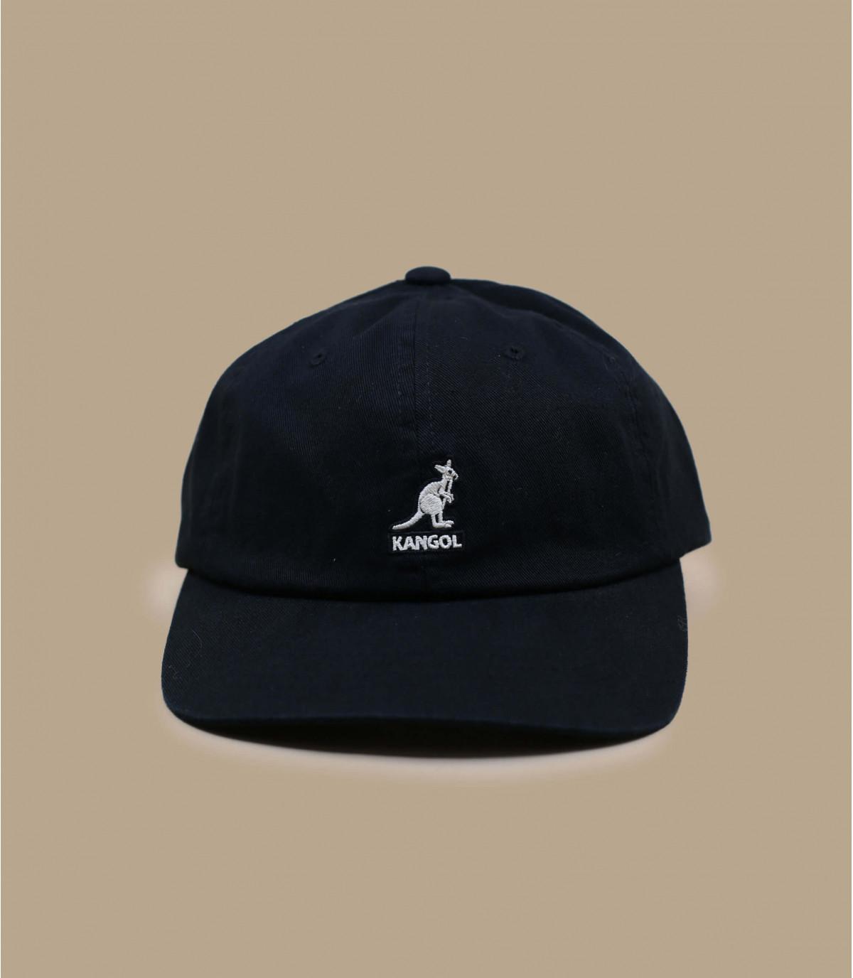 algodón negro gorra de béisbol Kangol