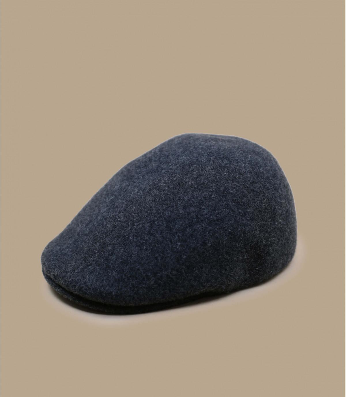 gorra lana gris Kangol