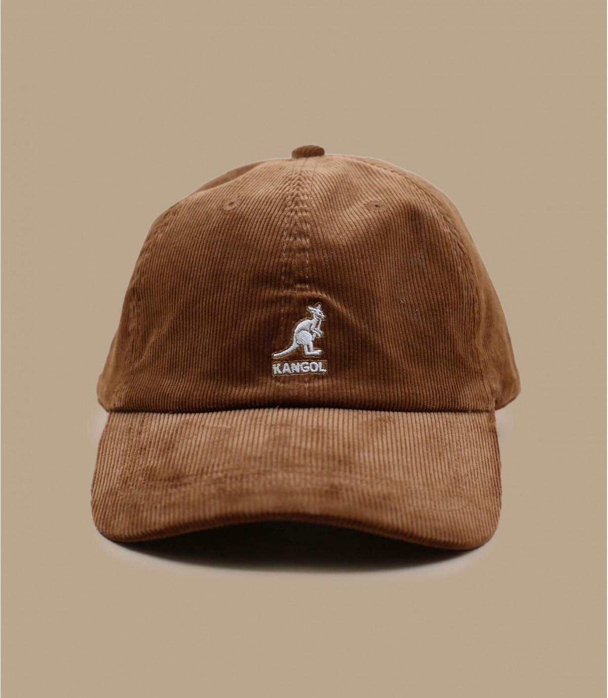 gorra pana marron Kangol
