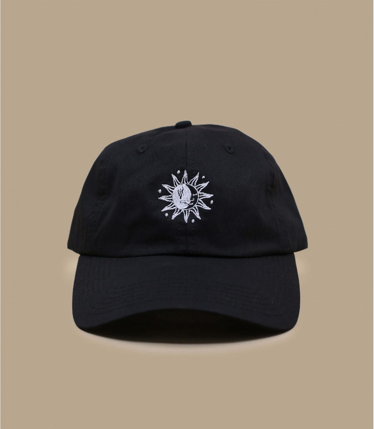 curva dom luna gorra negro