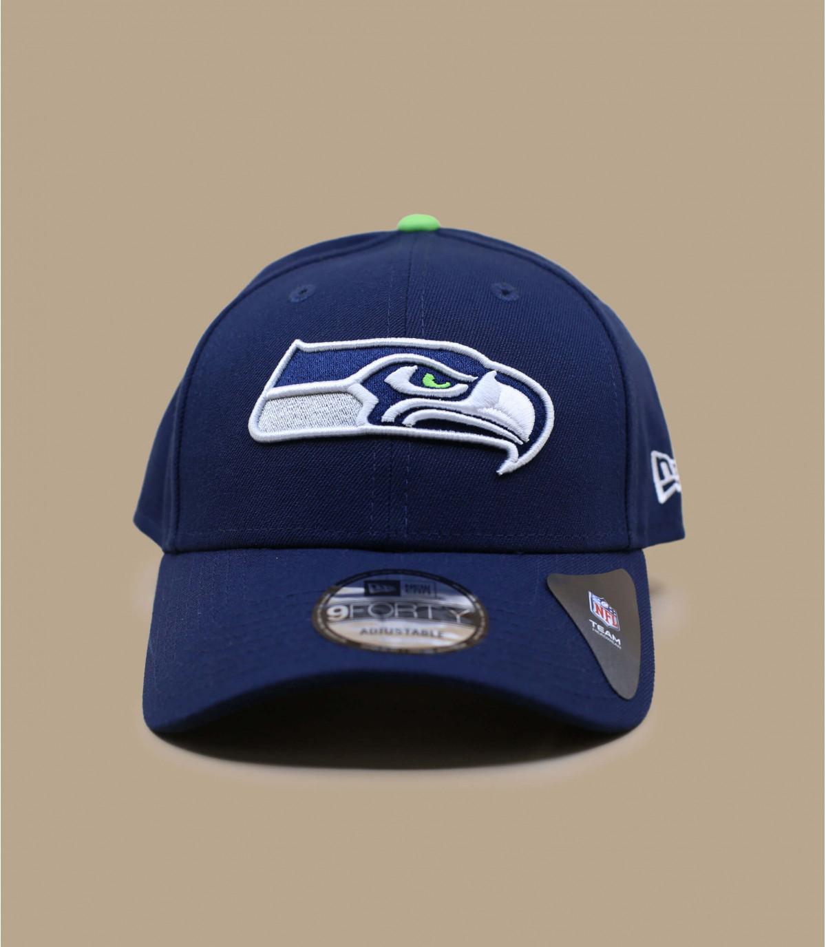 Seahawks gorra azul