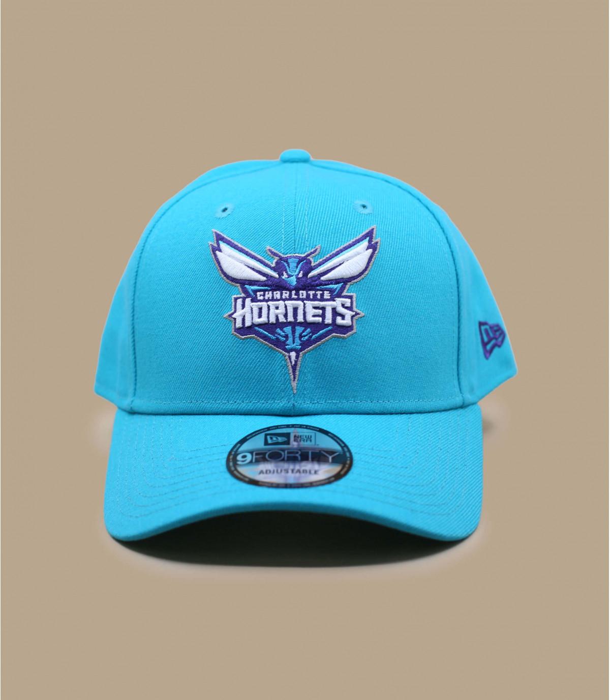gorra Hornets azul curva