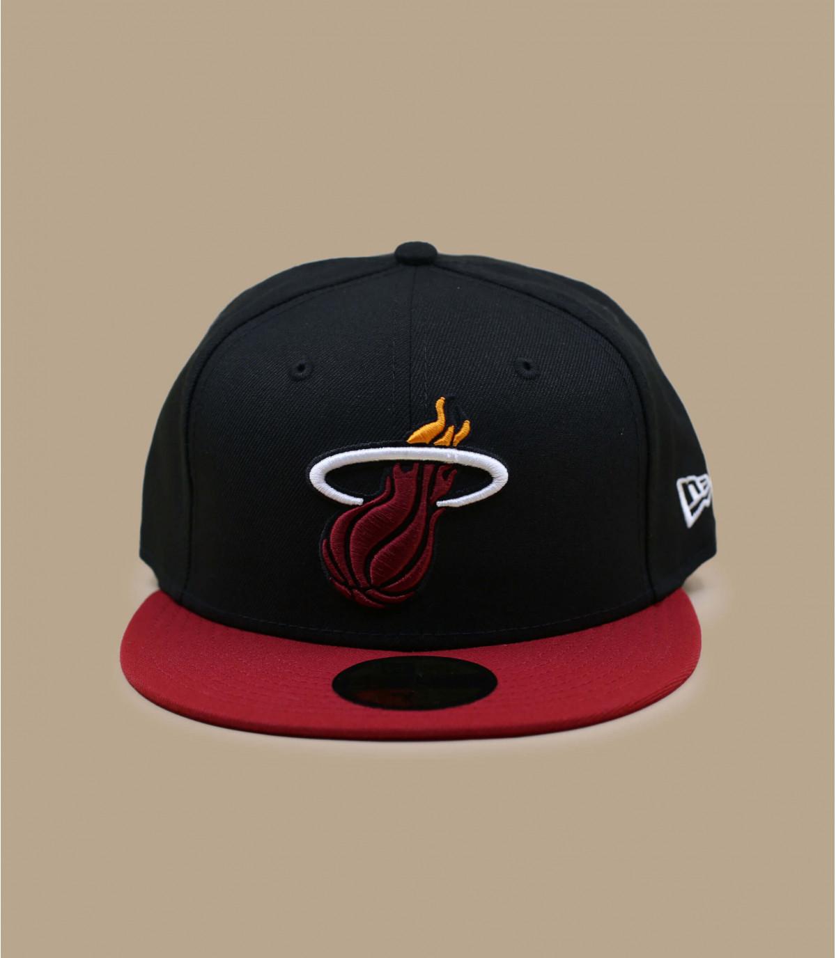 Black Miami Heat Cap
