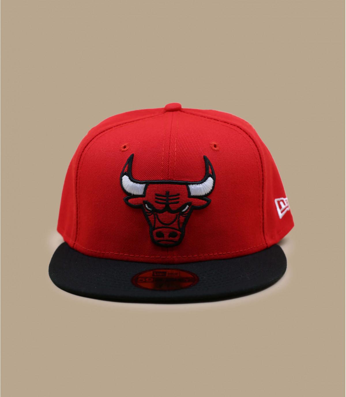 Red Chicago Bulls cap
