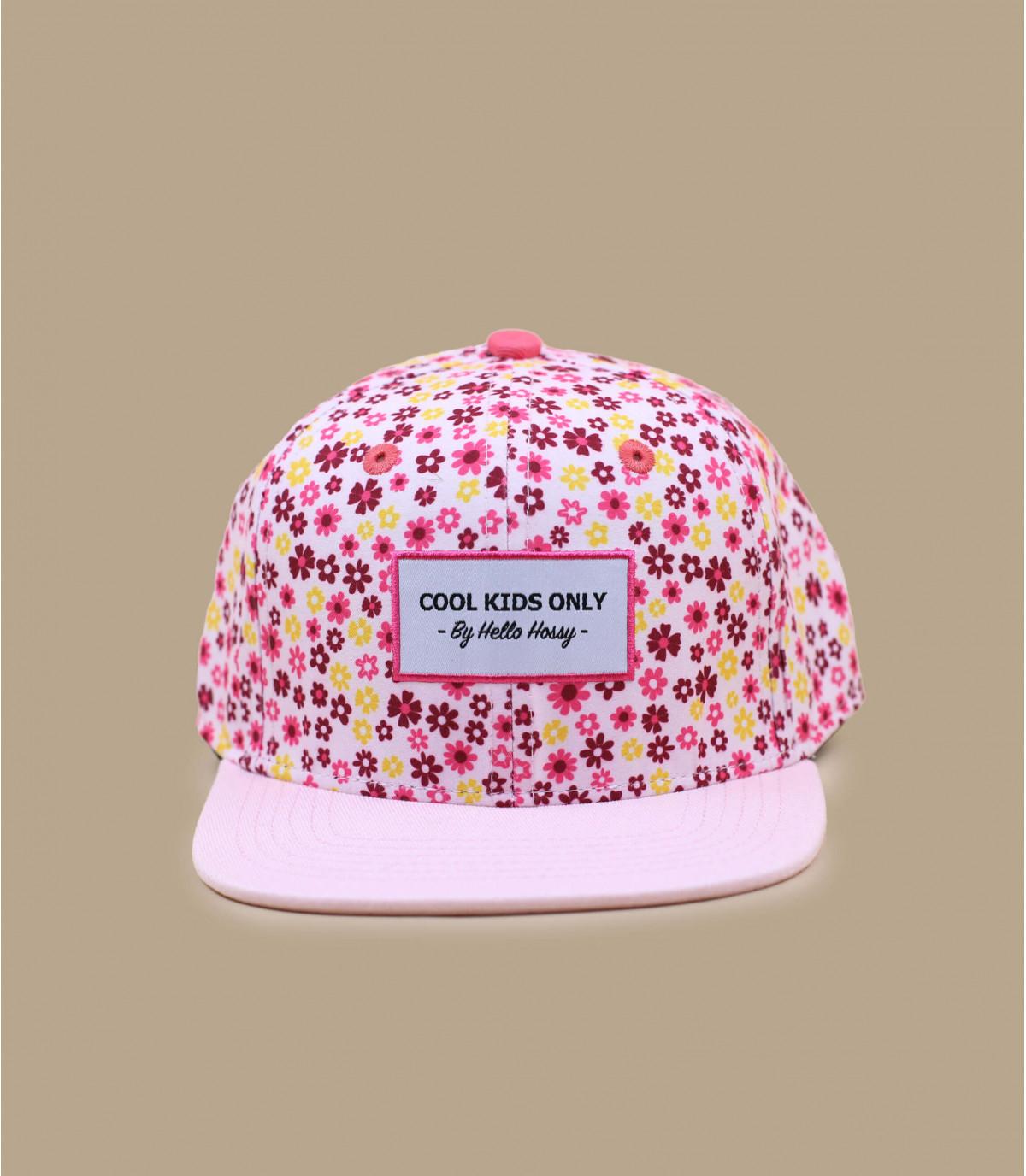 gorra flores niña