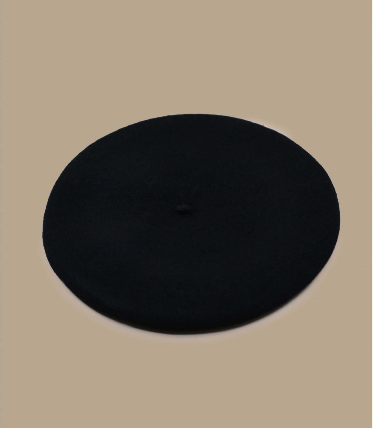 Detalles Boina paris negra imagen 2