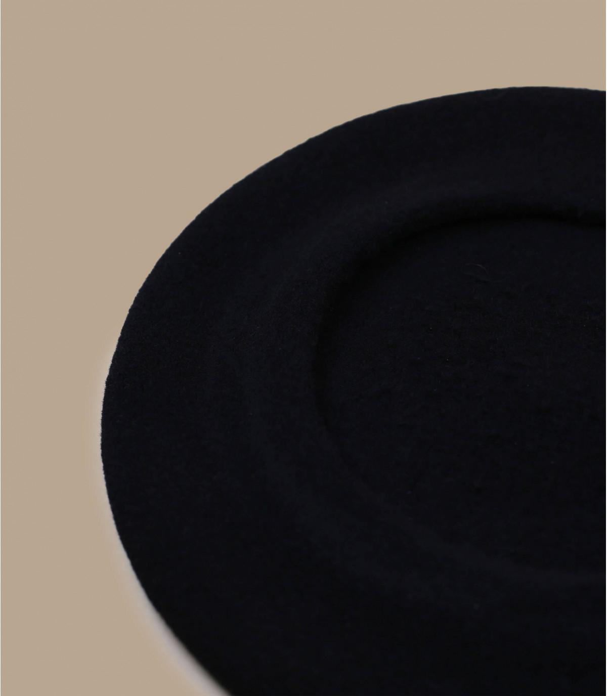 Detalles Boina paris negra imagen 3