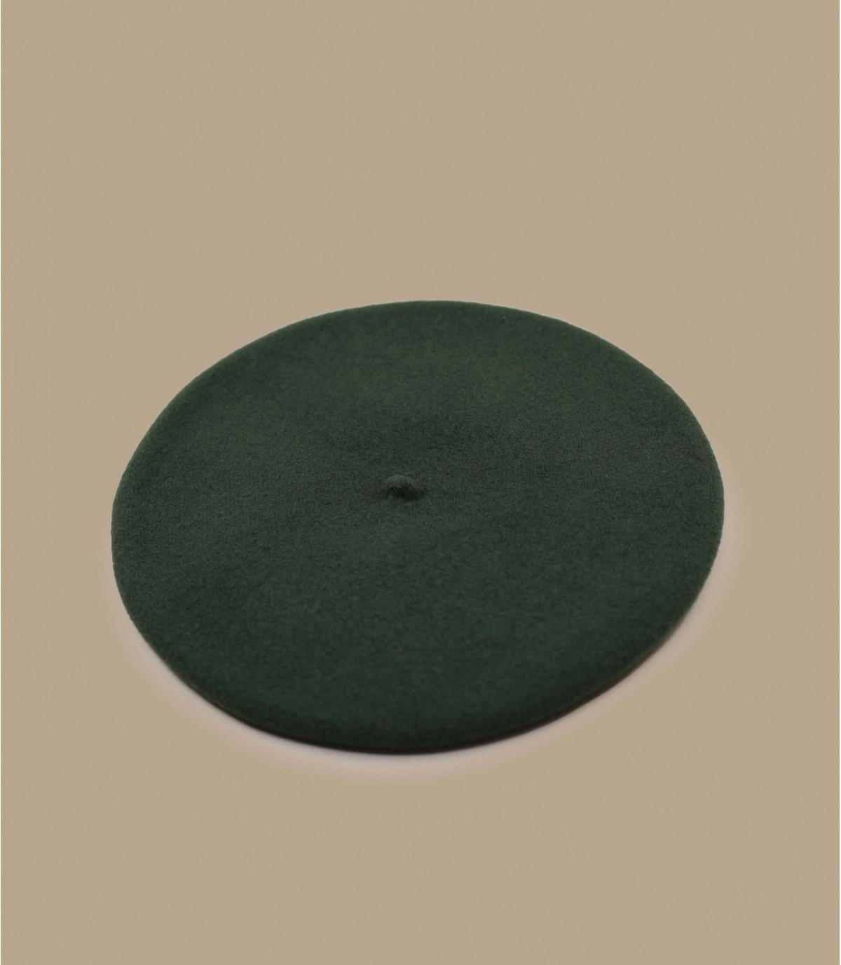 boina de lana verde caqui