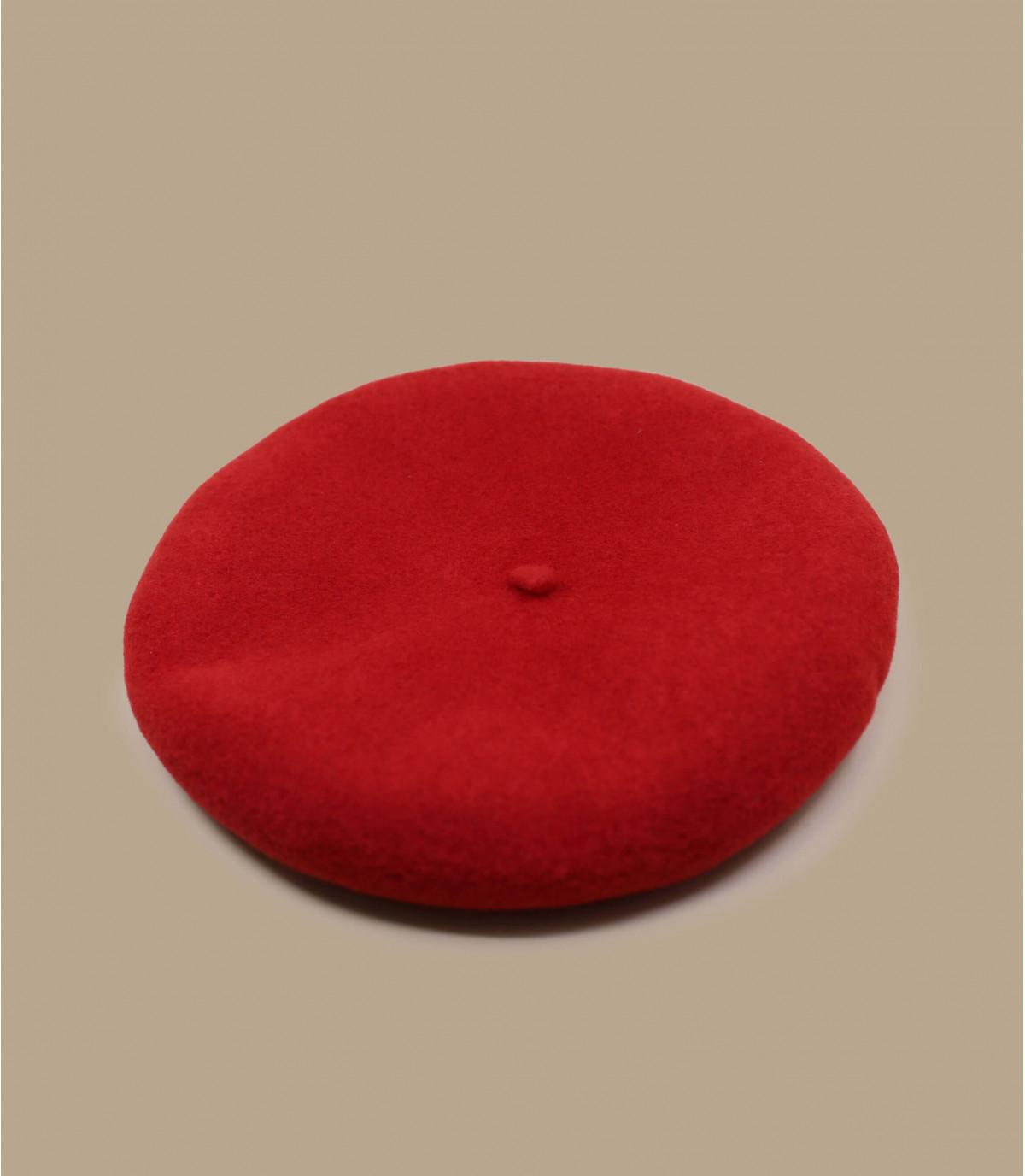 boina cachemira rojo
