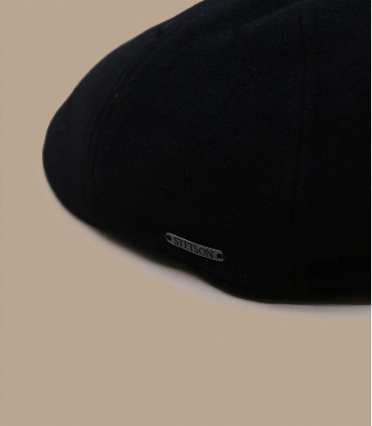 Detalles Texas wool cashmere black imagen 2