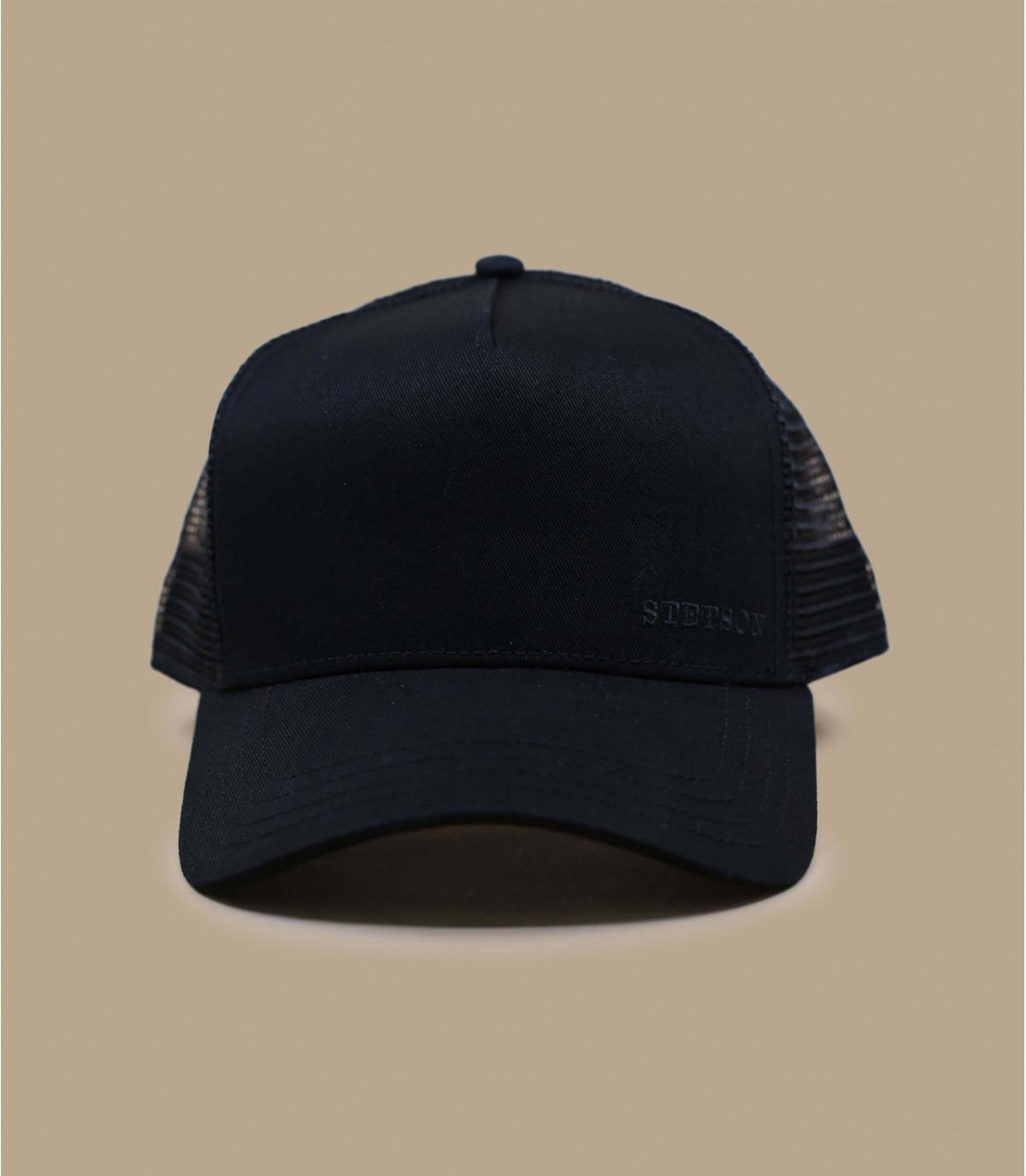 gorra trucker negro