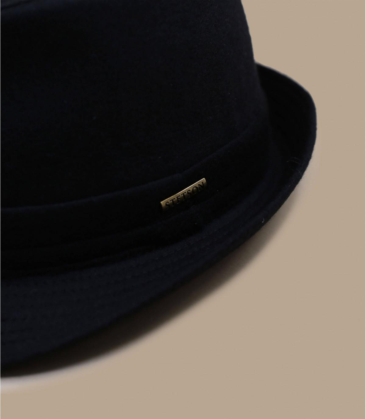 Detalles Sombrero Benavides wool negro imagen 2