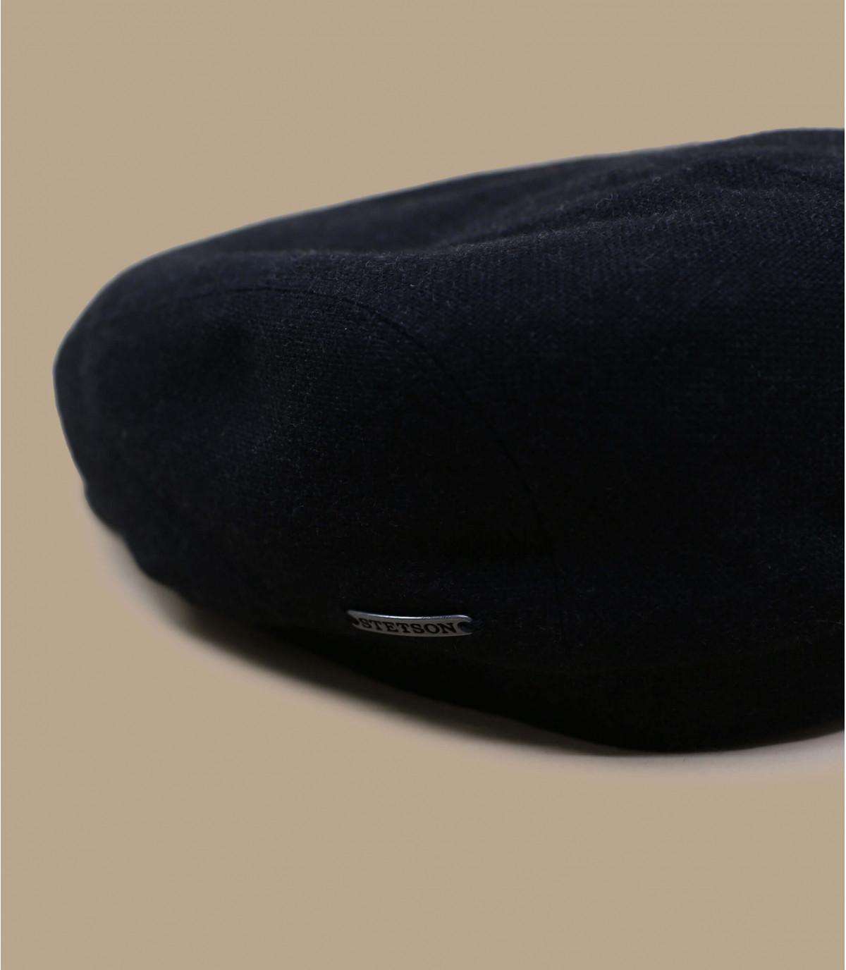 Detalles Driver Cap Virgin Wool Cashmere grey imagen 2