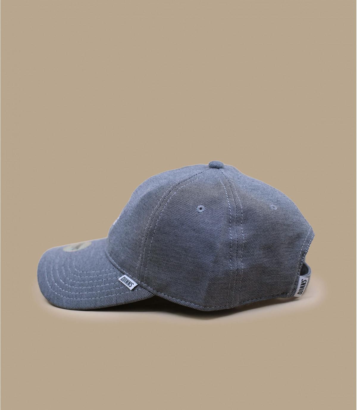 gorra curva Djinns negro