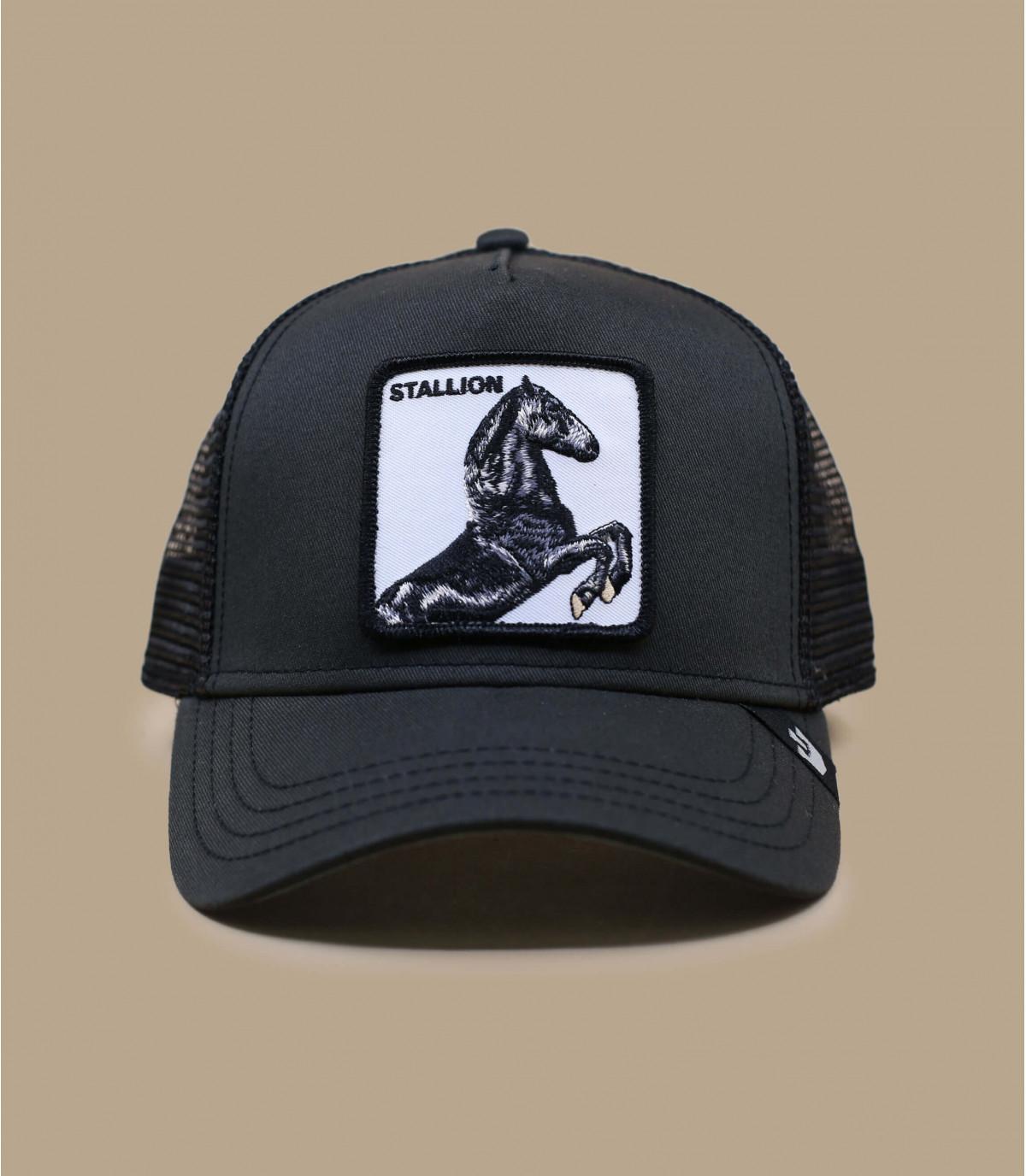 trucker caballon negro