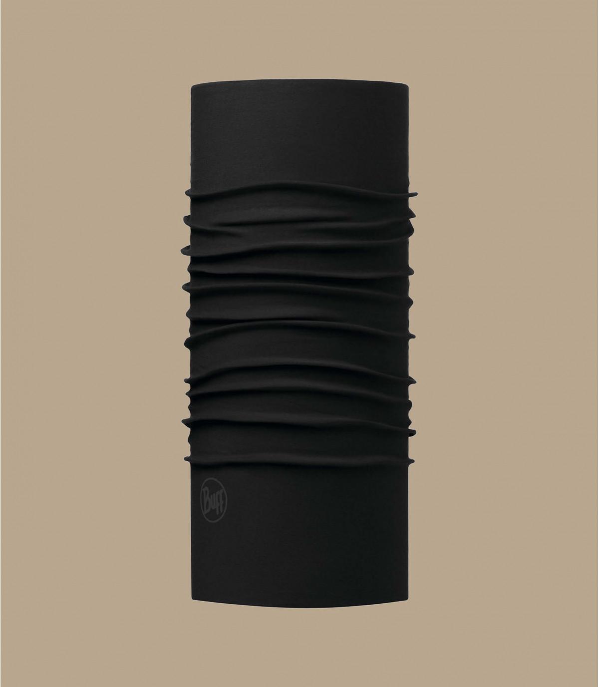 Black Buff microfibers