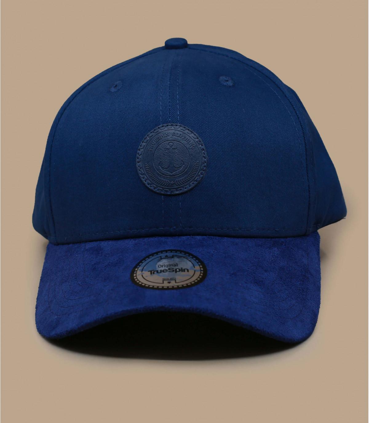 gorra ancla azul
