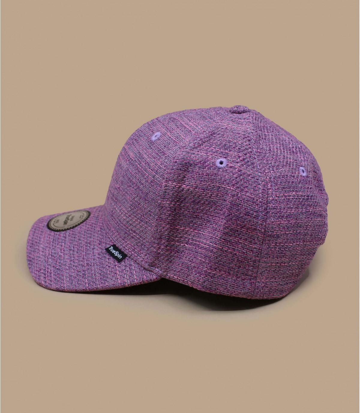 gorra morado tela