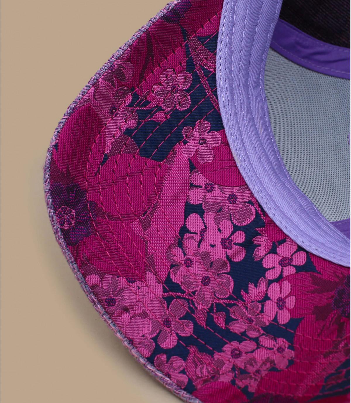 Detalles Round Script Flower purple imagen 4