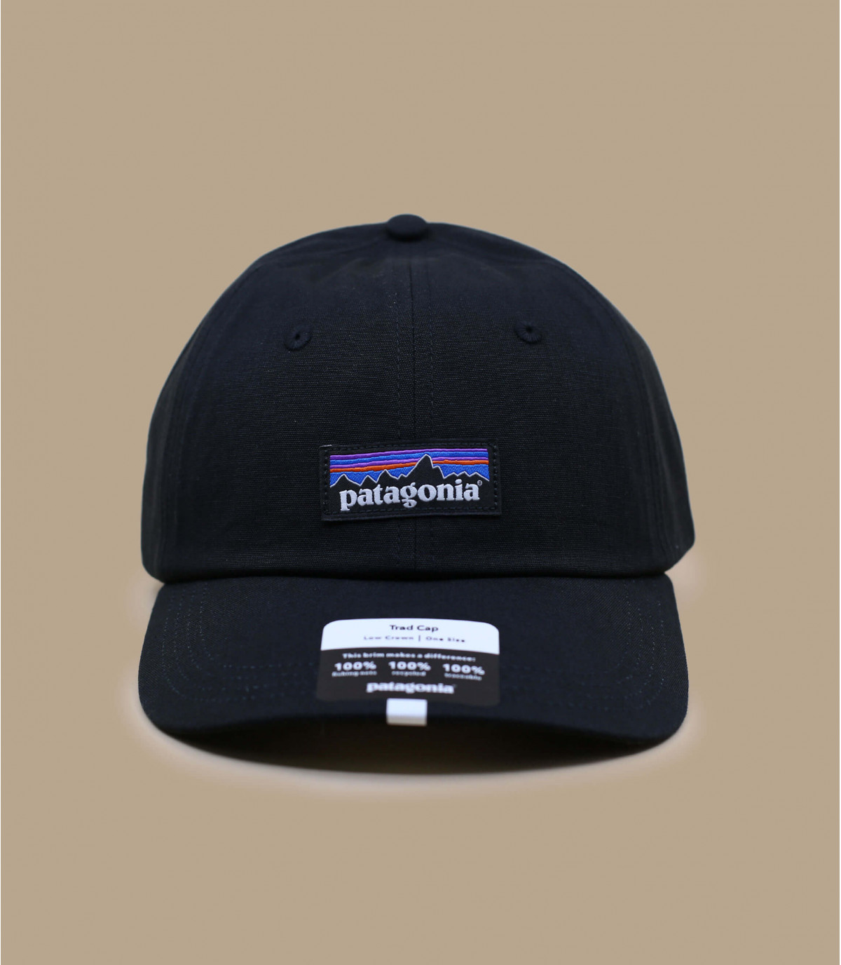 gorra Patagonia negro