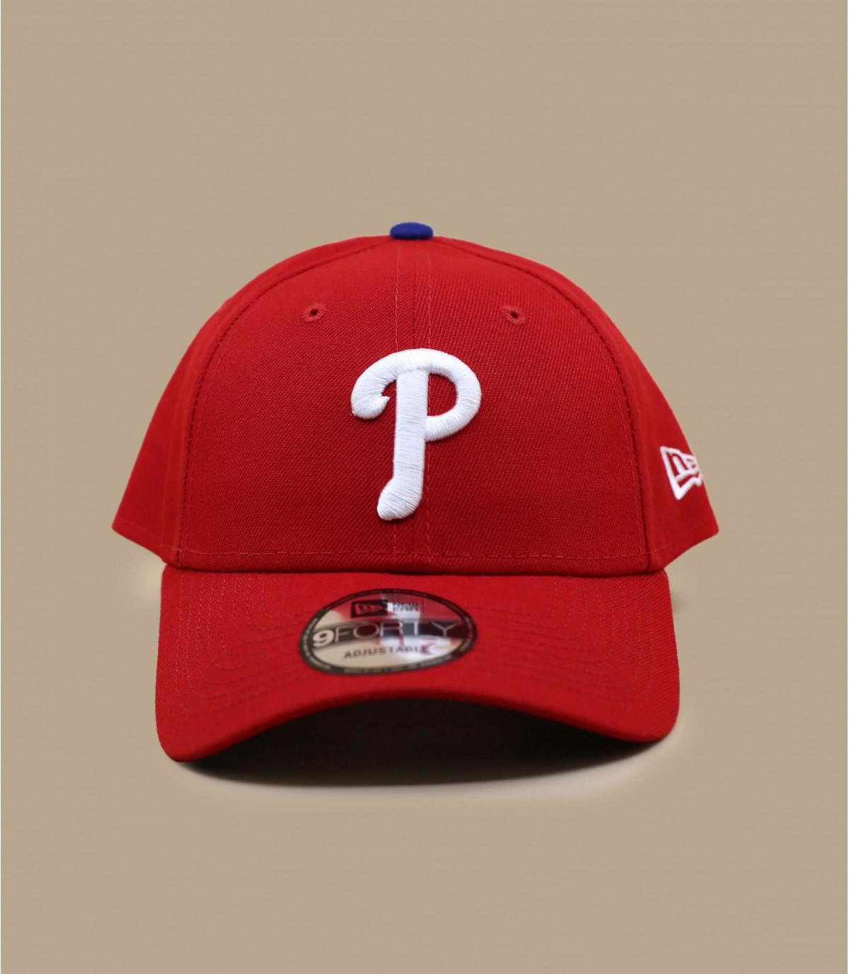 gorra P rojo