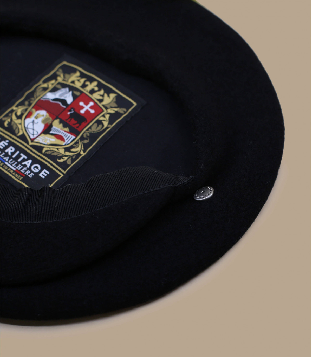 gorra repartidor lana negro