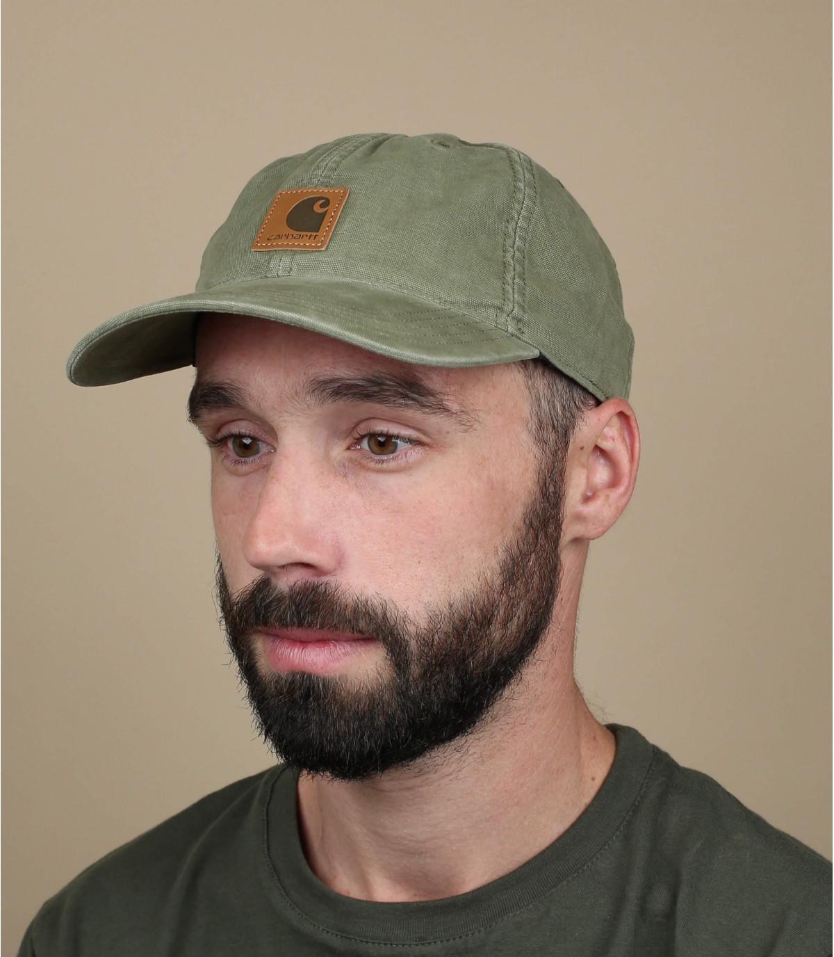 gorra curva parche verde Carhartt