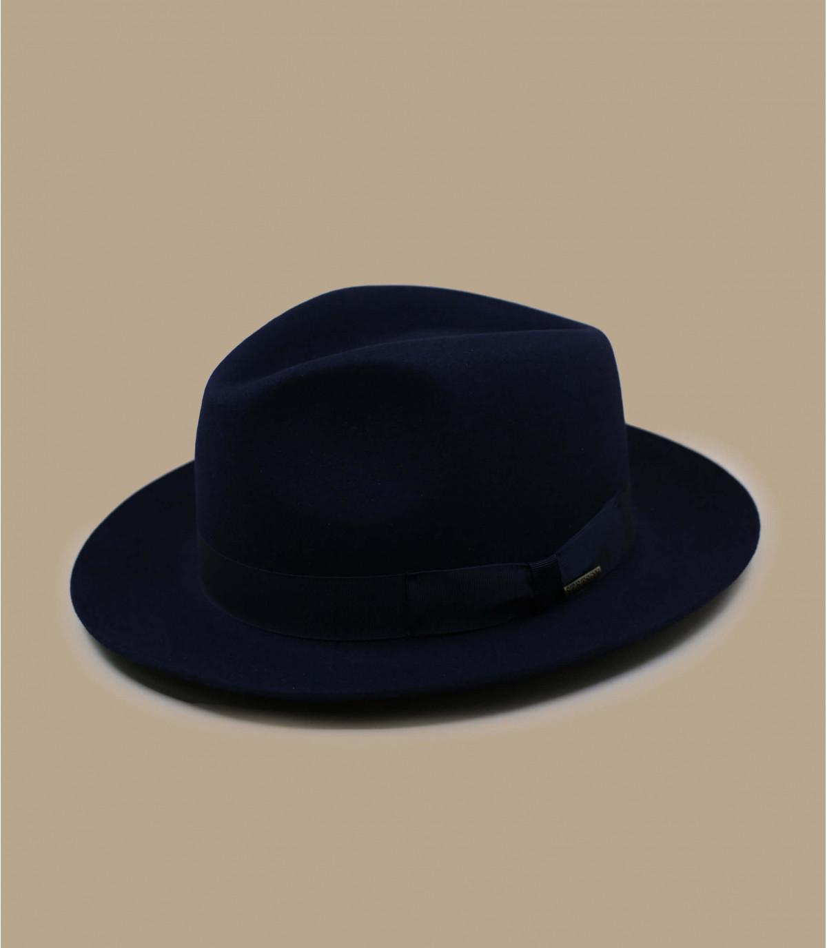 Fedora Stetson azul