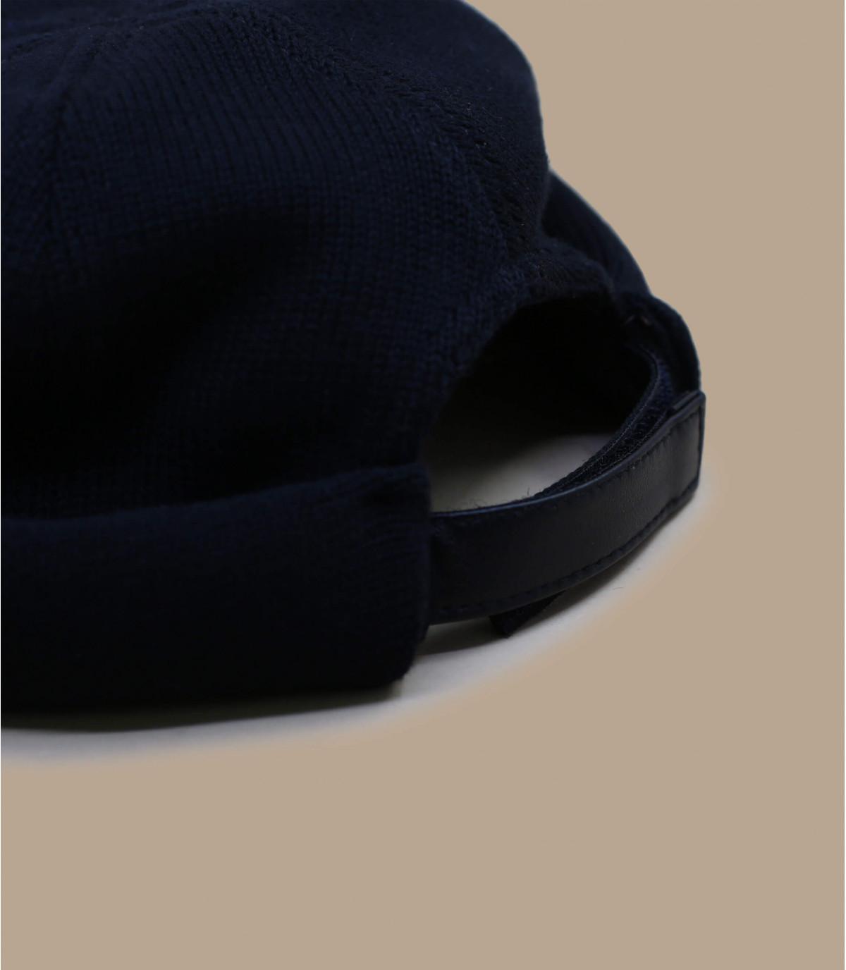 Detalles Docker Cotton Knit black imagen 2