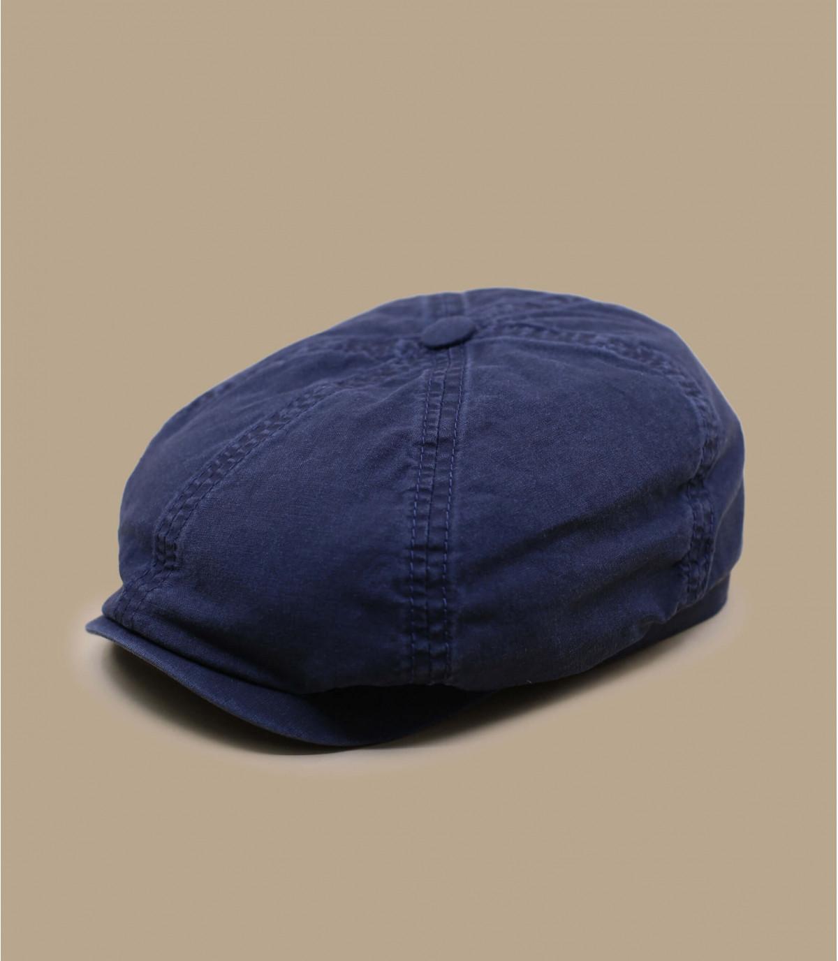 gorra repartidor algodón organico azul