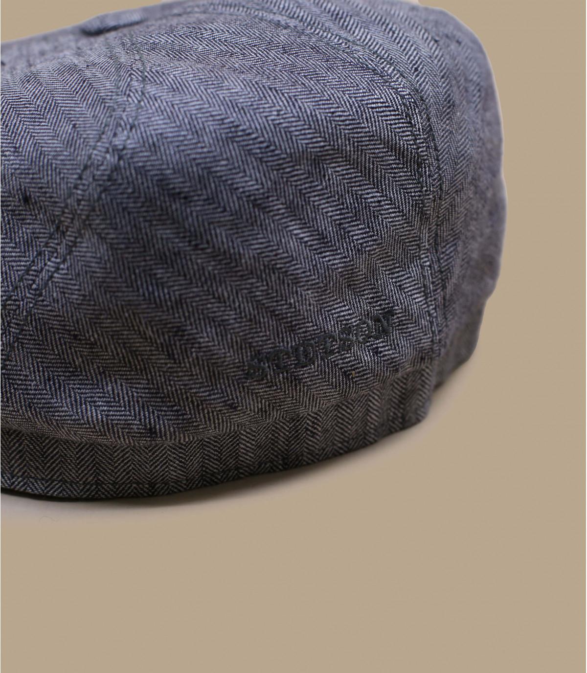 Detalles Brooklin lin grigio imagen 2