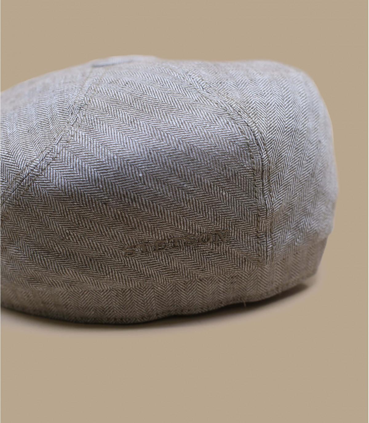 gorra lino beis