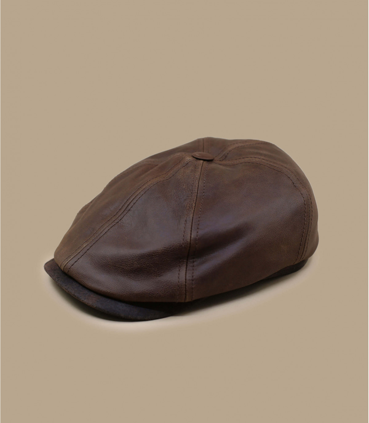 Gorra irlandaise cuir