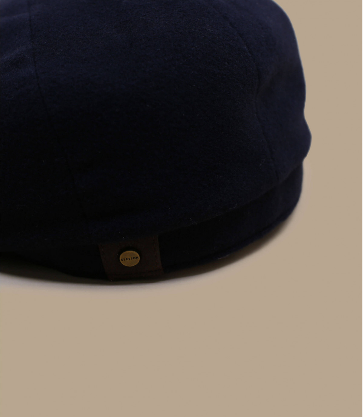 Stetson Hatteras Lana//Cashmere Flat Cap-Navy