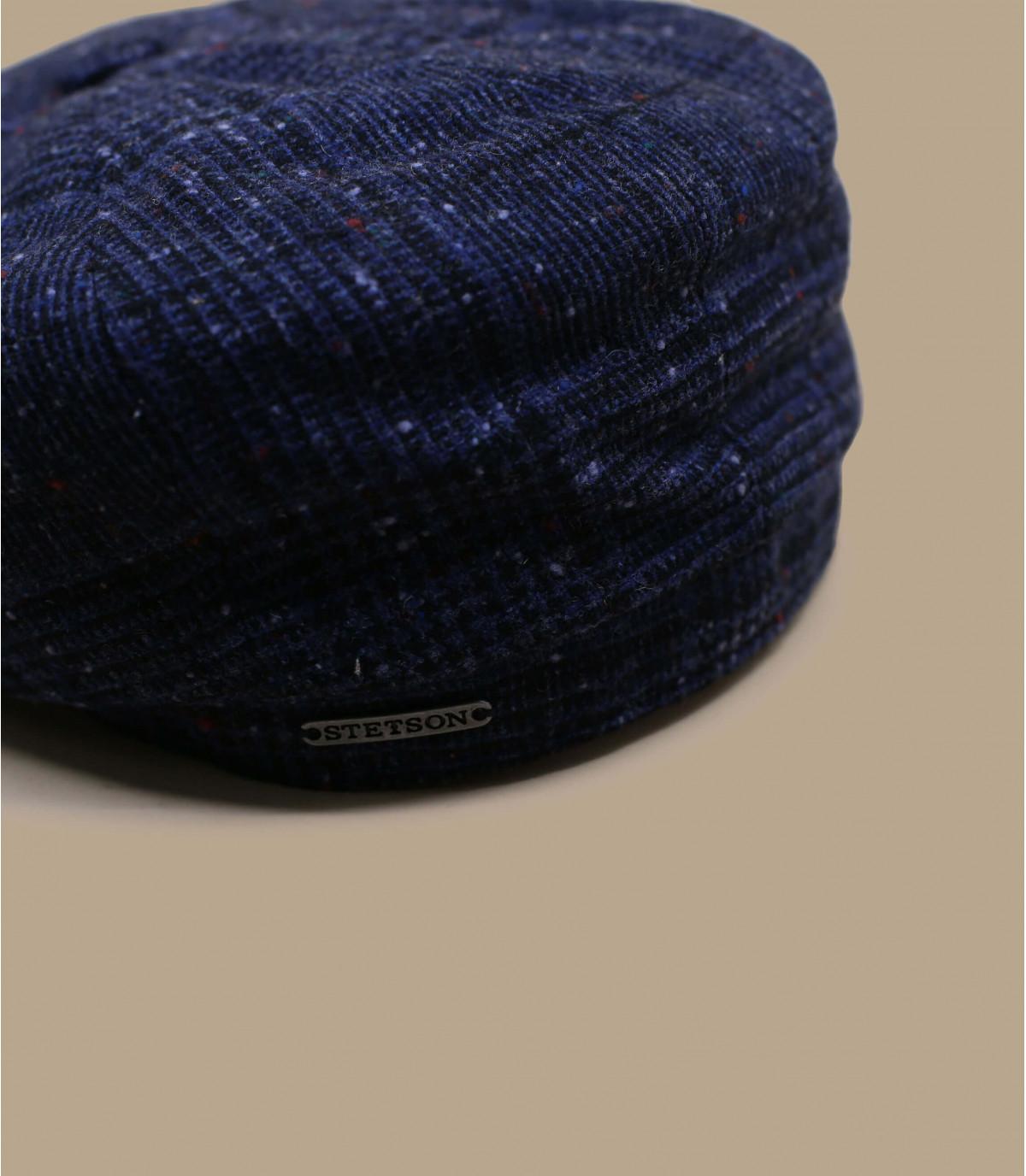 Detalles Hatteras Wool blue check imagen 2