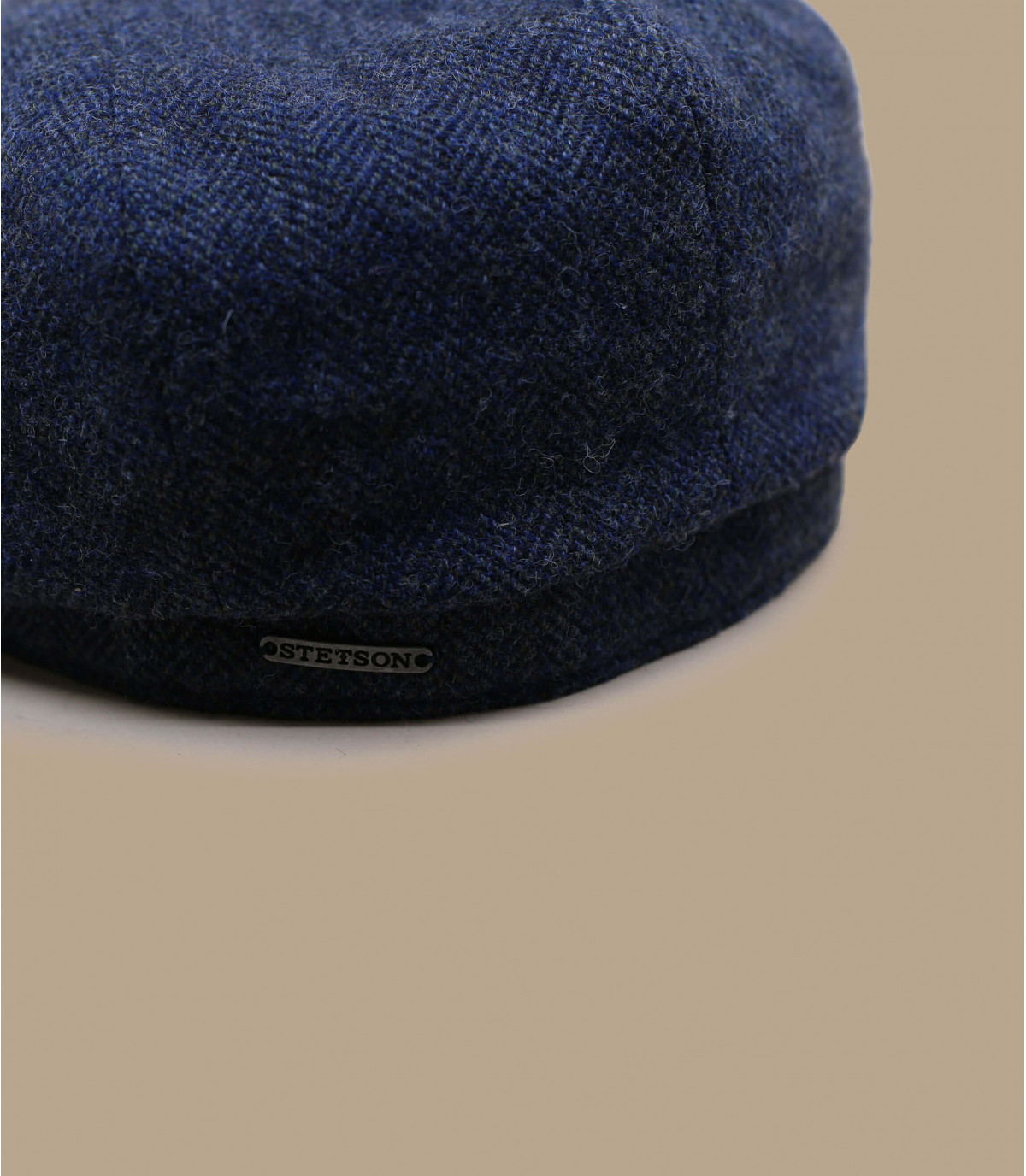 Detalles Hatteras Wool Herringbine blue imagen 2
