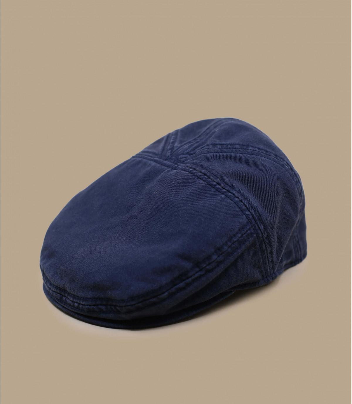 algodón gorra plana marino