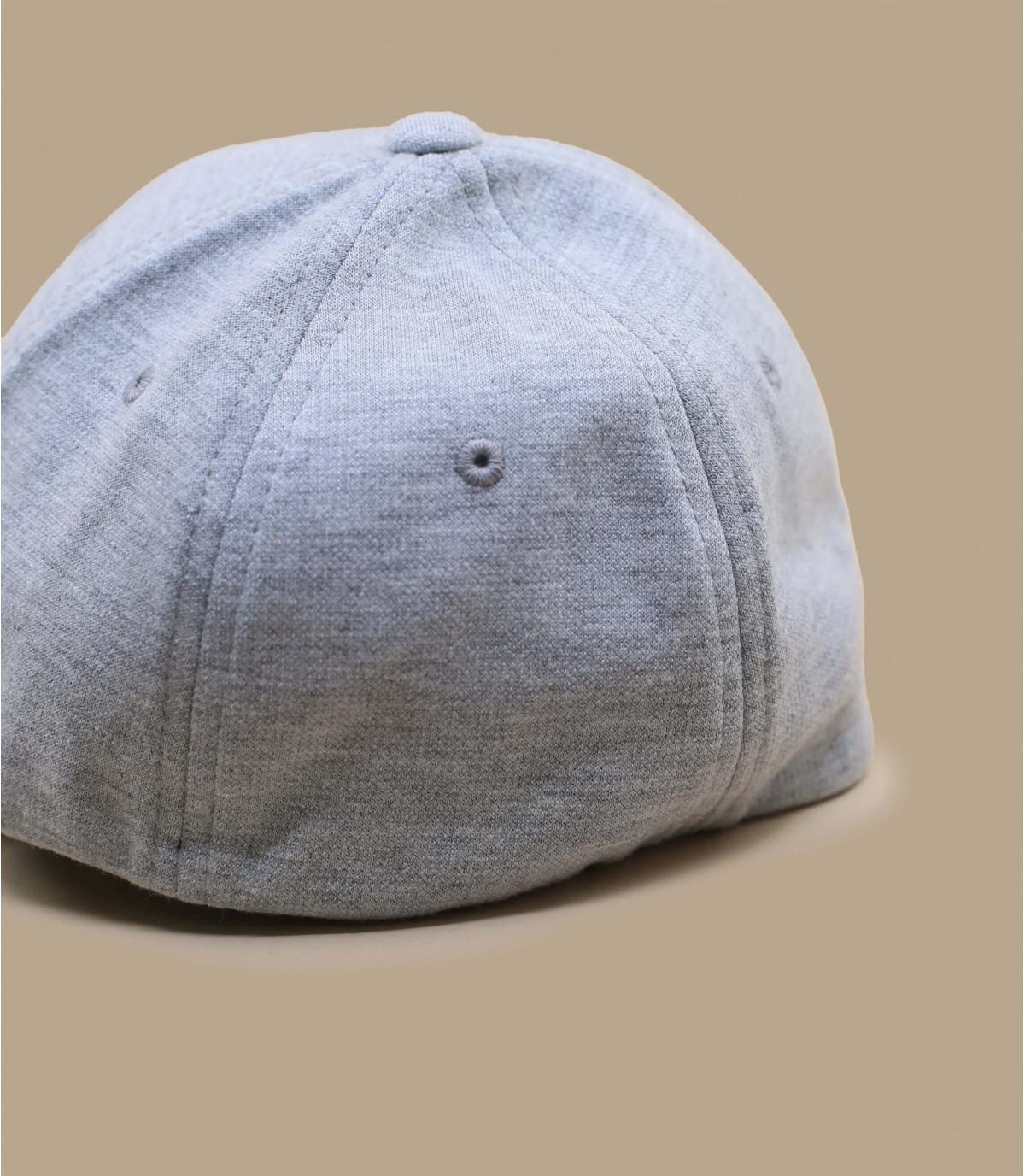 Detalles Gorra jersey gris imagen 3